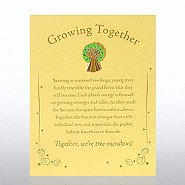 Character Pin - Tree: Growing Together