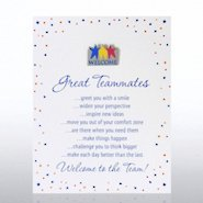 Character Pin - Welcome: Great Teammates