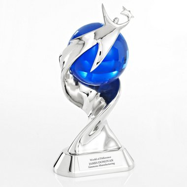 Elite Time to Shine Trophy - You Make a World of Difference