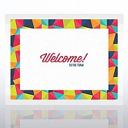 Welcome Certificate Paper