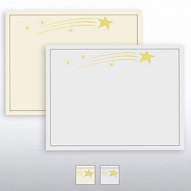 Blazing Star Foil Certificate Paper