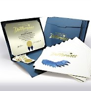 Certificate Paper Bundle - You Make the Difference