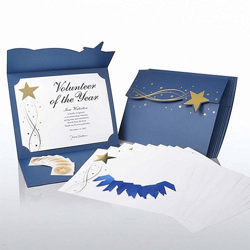 Magic Star Certificate Paper Bundle