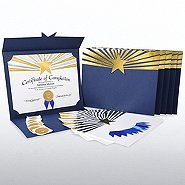 Certificate Paper Bundle - Beaming Star
