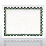 Certificate Paper - Aspire - Green