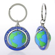 Spinner Key Chain - You Make a World of Difference