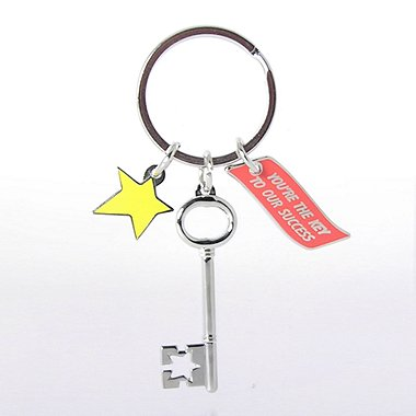 Simply Charming Key Chain - Key to Success