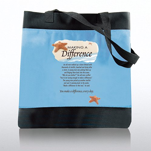 Starfish: Making a Difference Character Totebag