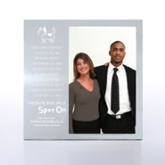 Engravable Photo Frame - Silver