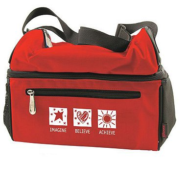 Premium Insulated Cooler Bag - Imagine Believe Achieve