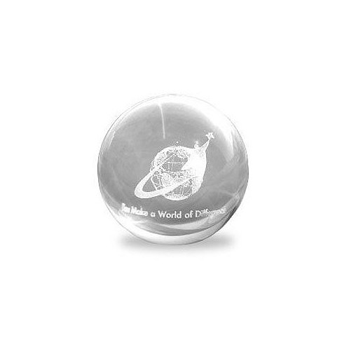 You Make a World of Difference Mini Sphere Paperweight