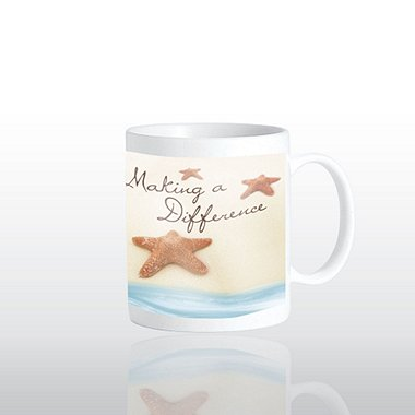 Ceramic Coffee Mug - Starfish: Making a Difference