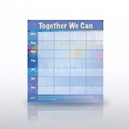 Weekly Calendar Deskpad - Together We Can