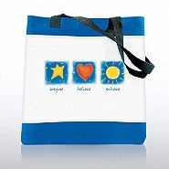 Character Totebag - Imagine Believe Achieve