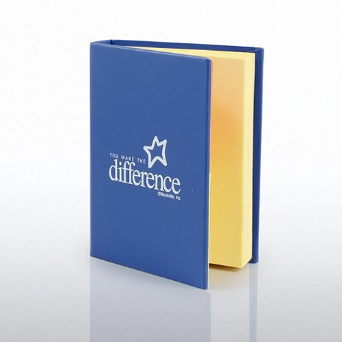 You Make the Difference Sticky Notebook