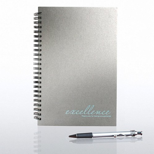 Excellence Foil-Stamped Journal & Pen Gift Set