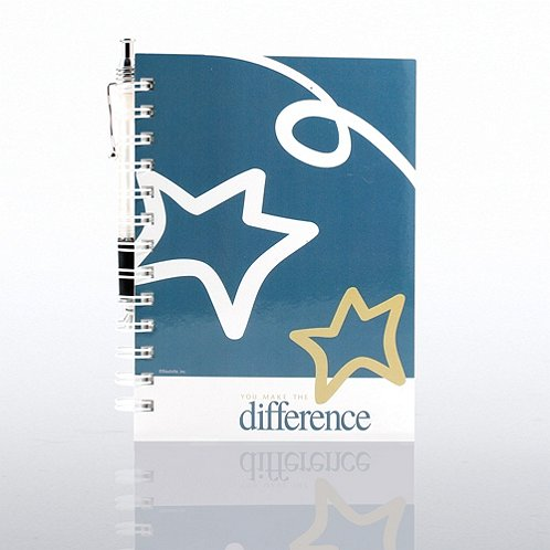 You Make the Difference Journal & Pen Gift Set