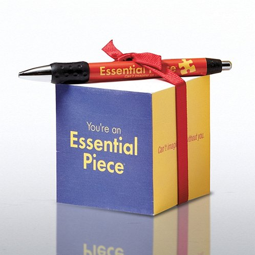 Essential Piece Note Cube & Pen Gift Set