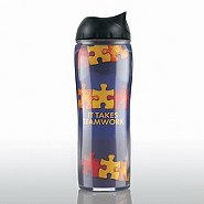 Travel Mug - It Takes Teamwork