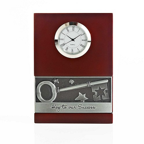 Key to Success Character Impression Clock