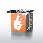 Note Cube & Pen Gift Set - Great Job!