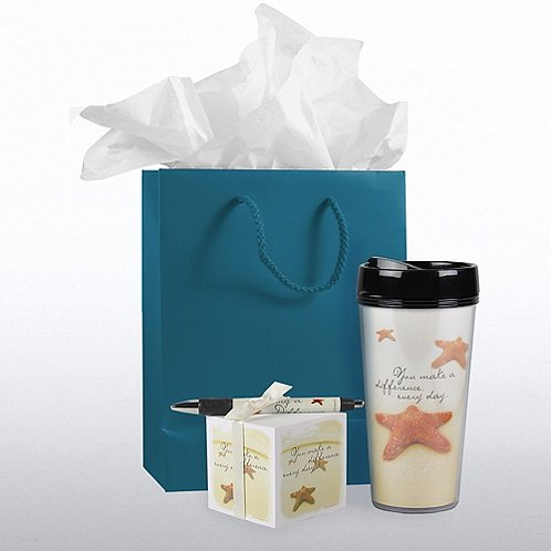 Starfish: Making a Difference Office Gift Set