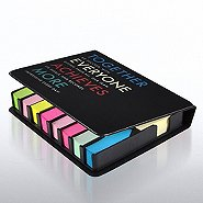 Flip Top Sticky Note Holder w/ Calendar - T.E.A.M