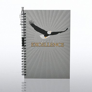 Foil-Stamped Journal & Pen Gift Set - Pursuit of Excellence