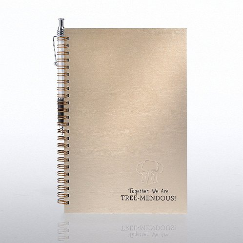 Growing Together Foil-Stamped Journal & Pen Gift Set