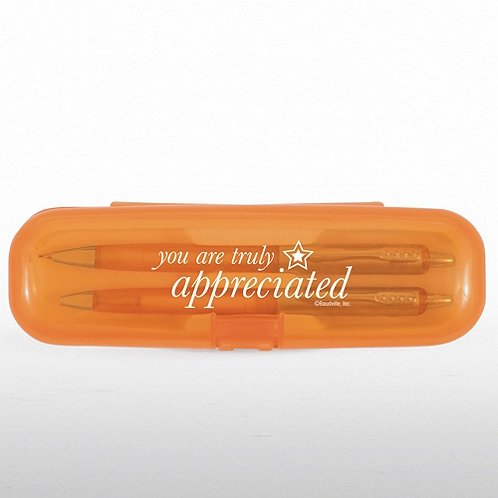 You are Truly Appreciated Pen & Pencil Gift Set