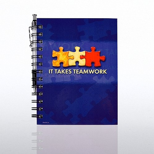 It Takes Teamwork Journal & Pen Gift Set