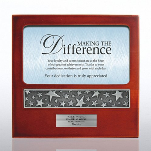 Making the Difference Character Impressions Trophy