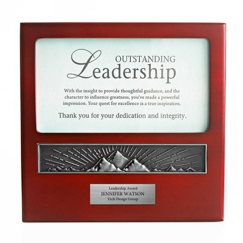 Outstanding Leadership Character Impressions Trophy