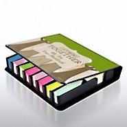 Flip Top Sticky Note Holder w/ Calendar - Growing Together