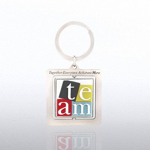TEAM Spinner Key Chain