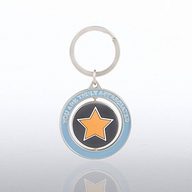 Spinner Key Chain - You are Truly Appreciated