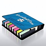 Flip Top Sticky Note Holder w/ Calendar - Essential Piece BL