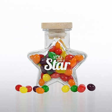 Glass Candy Jar - Star - You're a Star