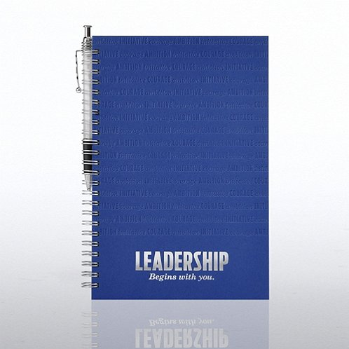 Leadership Foil-Stamped Journal & Pen Gift Set