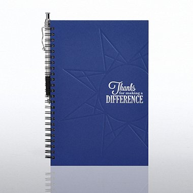Foil-Stamped Journal & Pen Gift Set - Thanks for MAD