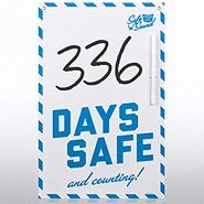 Safety Board - Days Safe