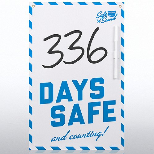 Days Safe Safety Board