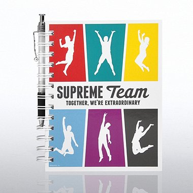 Journal & Pen Gift Set - Supreme Team
