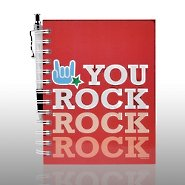 Journal & Pen Gift Set - You Rock