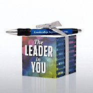 Note Cube & Pen Gift Set - Leader in You