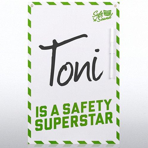 Safety Superstar Safety Board