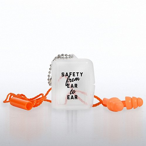 Serious About Safety Reusable Ear Plugs with Case