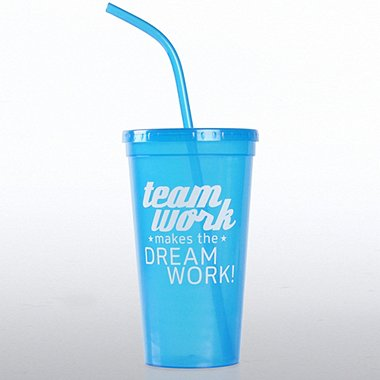 Value Tumbler - Teamwork Makes the Dream Work