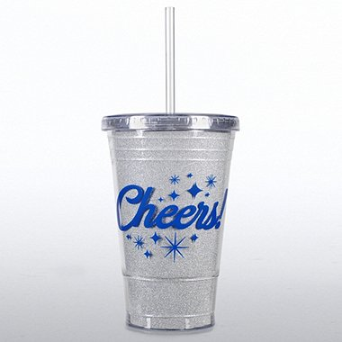 Twist Top Tumbler - Cheers!
