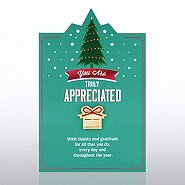 Character Pin - Tree/Present You Are Truly Appreciated